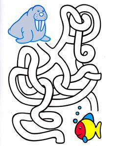 labirint_dlya_detey1 Dyslexia Activities, Preschool Worksheets, Airplane Activities, Polo Norte, Mazes For Kids, Maze Puzzles, Handwriting Worksheets, Activity Sheets, Thinking Skills