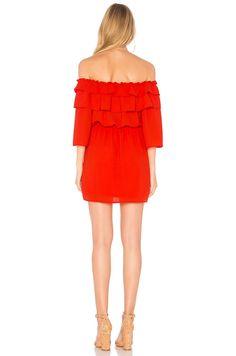 BB Dakota JACK by BB Dakota Bowser Dress in Poppy Red | REVOLVE
