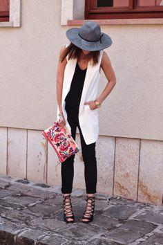 Wool fedora. www.fashionismycure.com