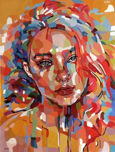 Modern Art Paintings Portraits Canvases 45 Ideas For 2019 Abstract Portrait Painting, Abstract Face Art, Portrait Art, Portrait Paintings, Arte Alien, Modern Art Paintings, Arte Pop, Funny Art, Pop Art
