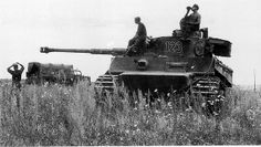 Tiger I, number 123 of Schwere Heeres Panzer Abteilung 503 on the Eastern Front