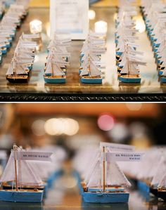 Loving these unique name cards for a wedding.    http://emthegem.com/2012/08/17/dana-drew-boston-four-seasons-wedding/