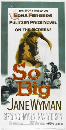 Image result for images of 1953 movie so big