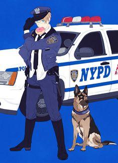 APH America, Police America, Blue Police, Color Police