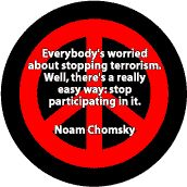Stop Terrorism Stop Participating in Terrorism--PEACE QUOTE T-SHIRT