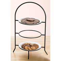 Creative Home 73045 3-Tier Dinner Plate Rack, 17-Inch Creative Home http://www.amazon.com/dp/B0002HQW7Q/ref=cm_sw_r_pi_dp_RPO4ub0T2SAN0