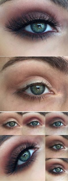 Makeup Tutorials for Blue Eyes -Vampy Tutorial For Blue Eyes -Easy Step By Step Beginners Guide for Natural Simple Looks, Looks With Blonde Hair Colour and Fair Skin, Smokey Looks and Looks for Prom https://thegoddess.com/makeup-tutorials-blue-eyes