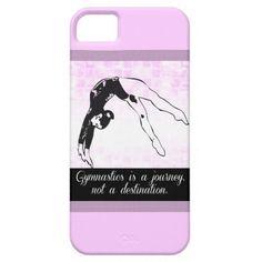 Gymnastics is a Journey iPhone 5/5s Case #gymnastics #iphone5s