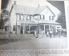 Kent Island Heritage Society Face book page says>>>This picture appeared in the Bay Times in 1974. The property still exists on Dominion Road and is owned by a Mr. Bennett. Quite a few merchants have conducted business on this property over the years. The original Price store, the one on the right . The one on the left still exists also and went out of business in 1974. J. Steve Goodhand is delivering the mail by horse and buggy. He had the home where the entrance to Claiborne woods is now.