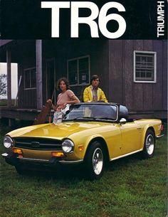 c1974 Triumph TR6 Brochure cover