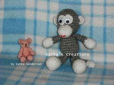 Little bear & monkey - FREE patterns from AMIGURUMI FREELY