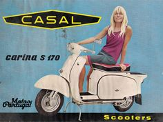 Vintage Casal S170 Carina (Made in Portugal)