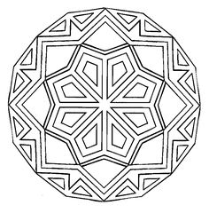 mandalas art therapy coloring pages - Art Therapy Coloring Pages Mandala