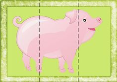 Risultati immagini per ferme maternelle petite section Autism Activities, Puzzles For Toddlers, Games For Kids, Toddler Puzzles, Maze Puzzles, File Folder Activities, Montessori Practical Life, Animal Puzzle, School Routines