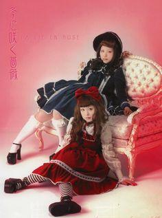 Classic lolita - Metamorphose shoot