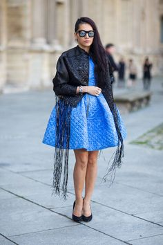 Street Style Paris Fashion Week Fall 2014 - Tina Leung