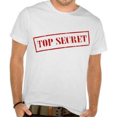 Top Secret Stamp T-Shirt