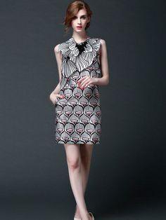 Floral Paneled Mini Dress, NWT, 1800 #JCURVE #TeaDress #Casual