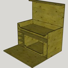 Diy Camping, Camping Crafts, Family Camping, Camping Ideas, Camping Hacks, Camping Kitchen Set Up, Woodworking Plans, Woodworking Projects, Pallet Furniture Shelves