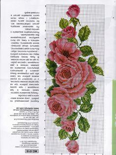 Cross Stitch Needles, Cute Cross Stitch, Cross Stitch Rose, Cross Stitch Flowers, Cross Stitch Charts, Cross Stitch Patterns, Hardanger Embroidery, Cross Stitch Embroidery, Cross Stitch Geometric