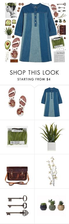 """9"" by catsinparis ❤ liked on Polyvore featuring Tory Burch, M.i.h Jeans, Alöe, Zatchels, Pier 1 Imports, Ballard Designs and PA Design"