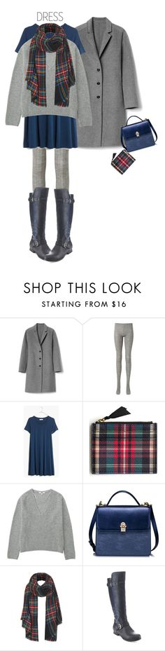 """""""Swingy Tee Dress'"""" by dianefantasy ❤ liked on Polyvore featuring Gap, Uniqlo, Madewell, J.Crew, Topshop, Wild Diva, polyvorecommunity, under100 and polyvoreeditorial"""