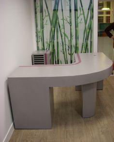 SG Mobilier Carton, bureau en carton   www.mobilier-carton-sur-mesure.com