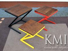 komplet trzech stolików #meblekolonialne #mebleakacja http://karinameble.pl/pl/p/komolet-rzech-stolikow-Organic-Loft-akacja-/4059