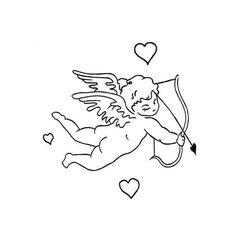 Dainty Tattoos, Small Wrist Tattoos, Mini Tattoos, Tribal Tattoos, Easy Tattoos, Zodiac Tattoos, Cupid Tattoo, Cherub Tattoo, Tattoo Sketches