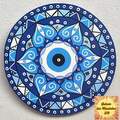 Mandala Artwork, Mandala Drawing, Mandala Painting, Acrylic Painting Tips, Dot Art Painting, Evil Eye Art, Pottery Painting Designs, Cd Art, Meditation Art