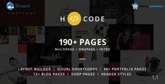 H-code - Multipurpose Commerce Drupal theme H-Code is a responsive, creative, powerful and multi-purpose multi page and one page template with latest web design trends. It is multi-purpose professional template for any business like design a. Page Template, Keynote Template, Website Template, Templates, First Web Page, Personal Resume, Pricing Table, Web Design Trends, Drupal