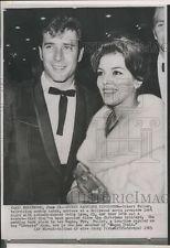 1963 Press Photo Robert Fuller, Patty Lyon wed