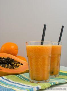 Papaya Smoothie mit Kokoswasser - Katha-kocht!