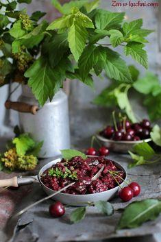 chutney wiśniowy Zen, Cherry, Strawberry, Fruit, Food, Essen, Strawberry Fruit, Meals, Prunus