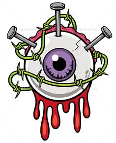 2 x Zombie Eyeball Vinyl Sticker iPad Laptop Kids Skate Bike Blood Drawing Cartoon Characters, Graffiti Characters, Cartoon Drawings, Cartoon Art, Zombie Drawings, Cartoon Monsters, Dark Drawings, Cool Art Drawings, Easy Graffiti Drawings