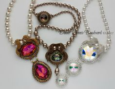 Suited for A Queen Necklace Kit in by DianeDennisBeadwork on Etsy