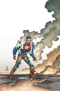 Superman - pencils: John Romita Jr., inks: Klaus Janson