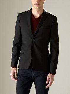 J Lindeberg Wool Hopper Dressed Blazer