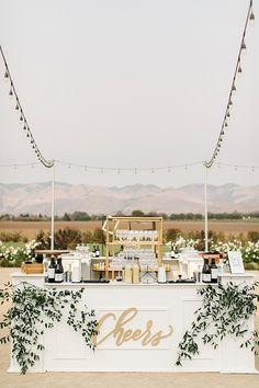 White Barn Edna Valley Wedding in San Luis Obispo by Anna Delores Photography Elegant Wedding, Perfect Wedding, Dream Wedding, Wedding White, Rustic Wedding Bar, Open Bar Wedding, Elegant Backyard Wedding, Wedding Lounge, White Weddings