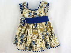 Vestidos ARTESANALES de nuestra firma de moda infantil ÑÁCAR@S a SOLO 29,40€  http://es.dawanda.com/product/85071335-vestido-de-nina-modelo-elsa