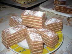 Csányi mézes Hungarian Desserts, Hungarian Recipes, Hungarian Food, Cake Cookies, Tiramisu, Waffles, French Toast, Dessert Recipes, Food And Drink