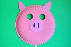 Pig Mask – Sunny Side Up Show Crafts | Preschool Crafts