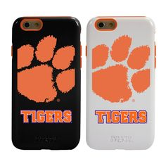 MobileMars-Clemson Tigers Guard Dog Hybrid Case for iPhone 6 / 6s