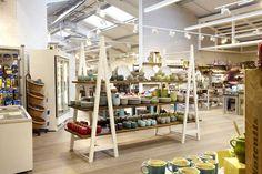 Notcutts Garden Centre Tunbridge Wells |  Bespoke A-frame display units by Andy Thornton