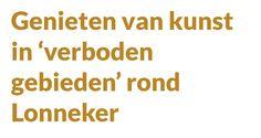 @KunstenLandschap Genieten van kunst in 'verboden gebieden' rond Lonneker   Zie: http://huisaanhuisenschede.nl/nieuws/genieten-van-kunst-in-verboden-gebieden-rond-lonneker-1.5982322