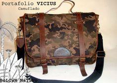 Portafolio VICIUS camuflaje