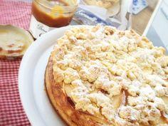 Karamell-Apfel-Käsekuchen nach Rezept der Lecker Bakery!