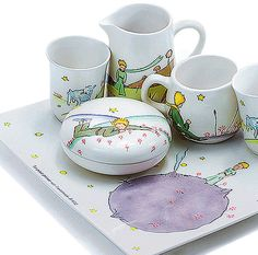 Petit Prince Tea set. OMG!!!!!