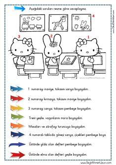OKUDUĞUNU ANLAMA – Oku – Boya Çalışması 7 DOĞUM GÜNÜ Okuma anlama metni Özgün bir çalışma olarak pdf formatında hazırlanmıştır. Sitede bulunan çalışmaları özgün içerik.. Literacy Worksheets, Math Literacy, Turkish Lessons, Dinosaurs Preschool, Learn Turkish, Turkish Language, Christmas Math, Following Directions, Reading Passages