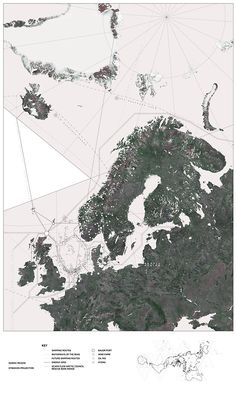 Nordic Regions are shown in this map. Architecture Mapping, Architecture Graphics, Architecture Board, Architecture Drawings, Landscape Architecture, Urban Analysis, Site Analysis, Urban Mapping, Nordic Design